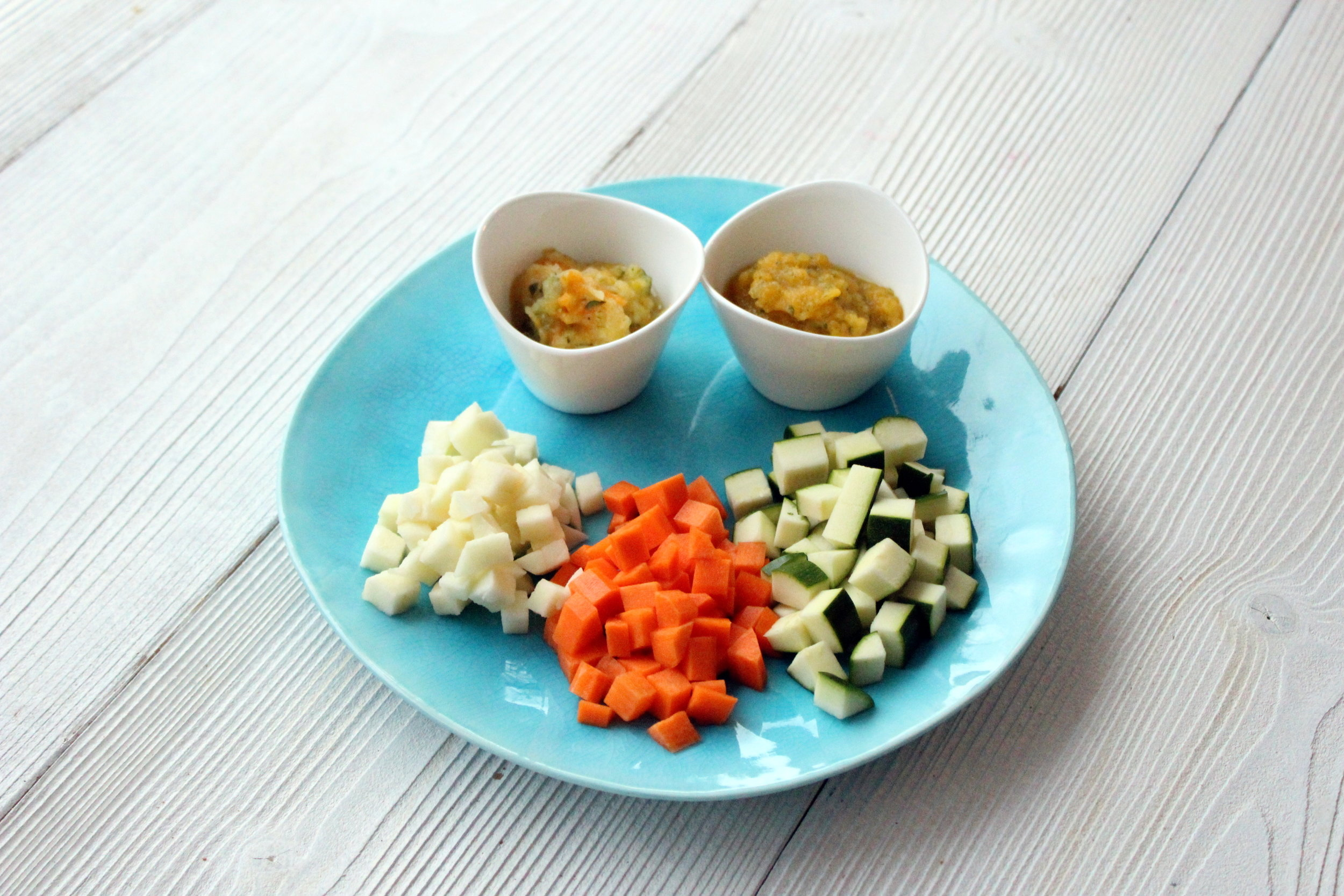 Organic Cookery School - Baby Puree