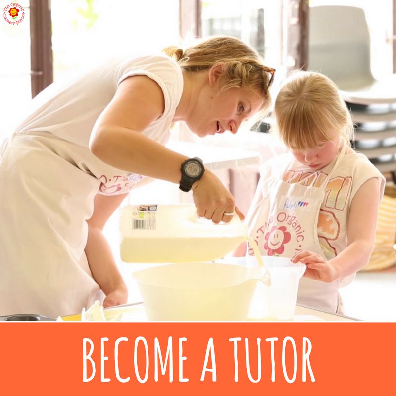 BECOME A CERTIFIED ORGANIC COOKERY SCHOOL TUTOR