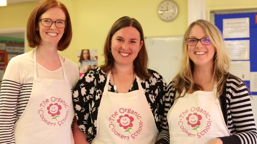 organic cookery school tutor training