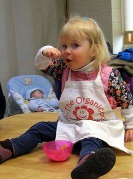 The Organic Cookery School Food Explorers toddler Nutrition course