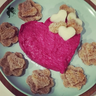 And if hummous is your thing, you can't go wrong with this Beetroot Hummous recipe from  Baby Gram