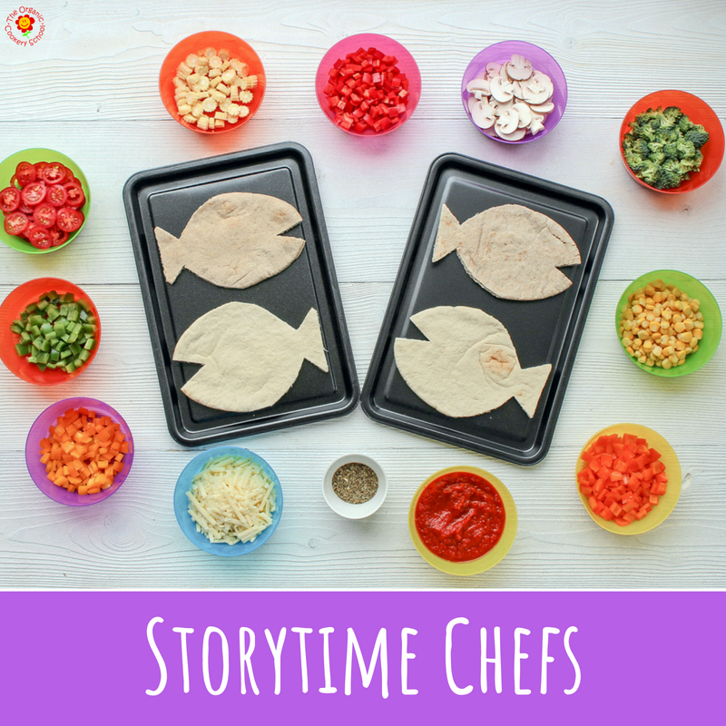 A SERIES OF COOKING ACTIVITIES INSPIRED BY POPULAR CHILDREN'S BOOKS