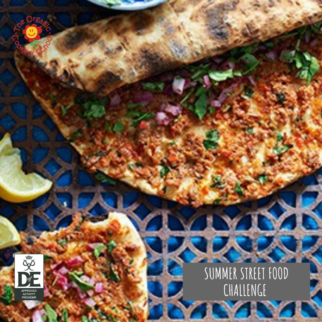 Duke of Edinburgh's Awards street food course - The Organic Cookery School