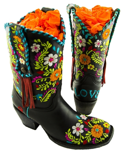 "When I can't sleep, I will search hashtags on Instagram until I get tired.  That's how I came across these boots by Rodeo Quincy. As we all know, Song Suffragettes love love loves some powerful women. Quincy is a real cowgirl and designed these boots herself.  I'm all about some embroidery so of course I think these ""Carmen"" boots are amazing. I reached out to Quincy to see if she'd give us a promo code and she not only did that but is also sending me these boots! How sweet is that?! Seriously can't tell you how excited I am to get them in! I will definitely be posting pics.  If you want to buy these boots, the promo code is JORDYN30%   Thanks Quincy!!"
