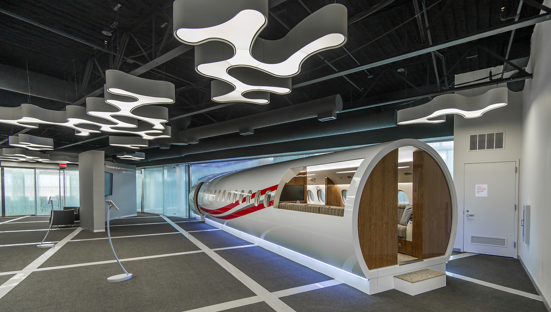 Dassault Falcon Jet North American Showroom