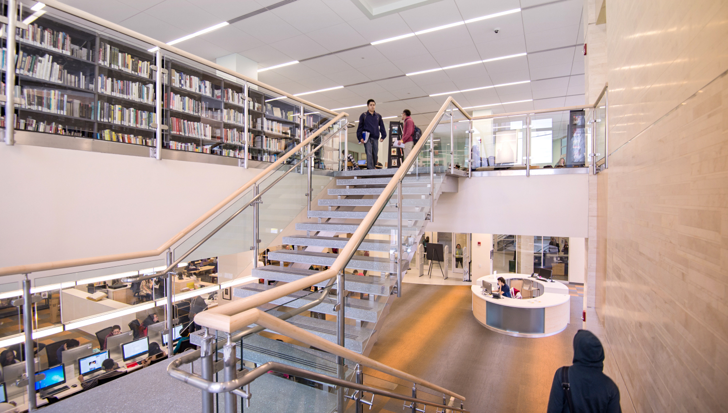 Hudson County Community College Library & Academic Building
