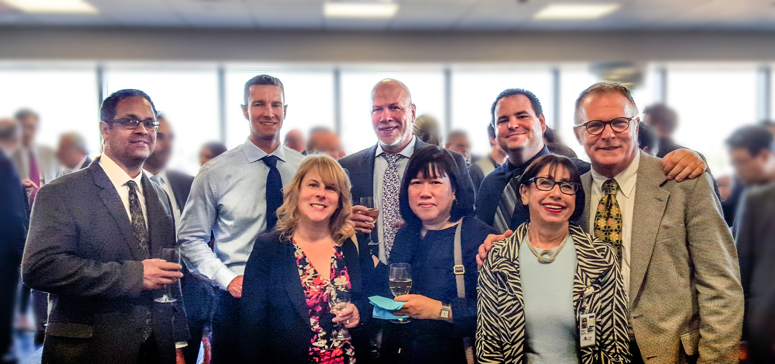 NK Project team and Senior Director Marketing & Communications at Mount Sinai Queens, Shelly Felder, celebrate the opening of the new ER