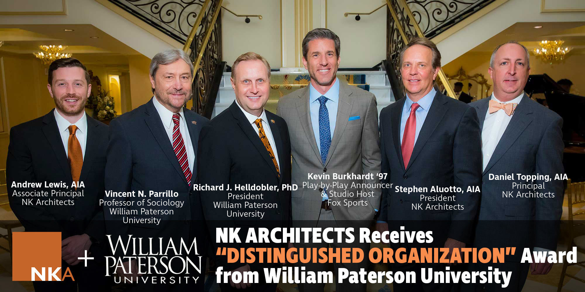 NK receives Legacy Award from William Paterson University
