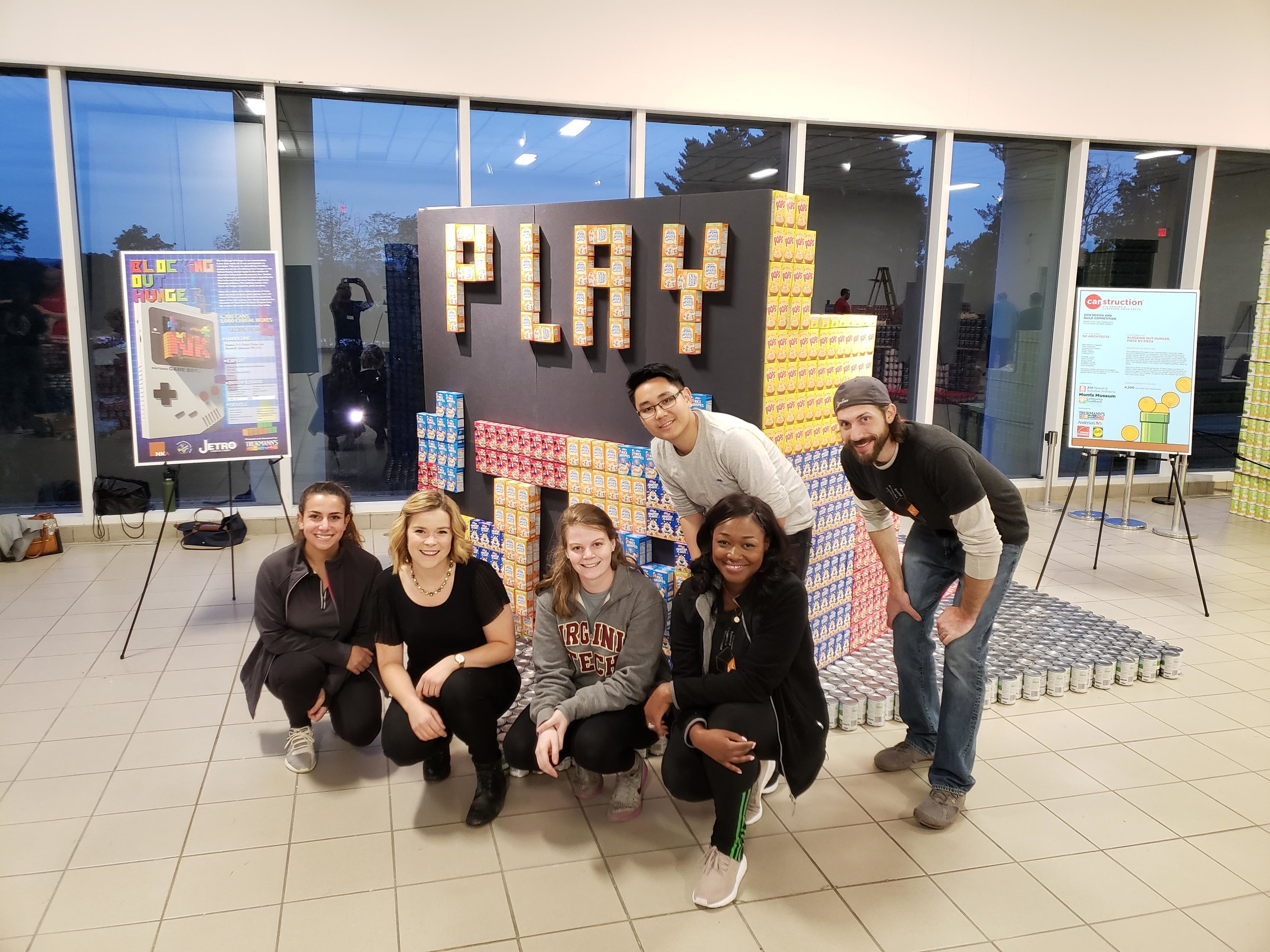 NK competes in CANstruction for 20th consecutive year