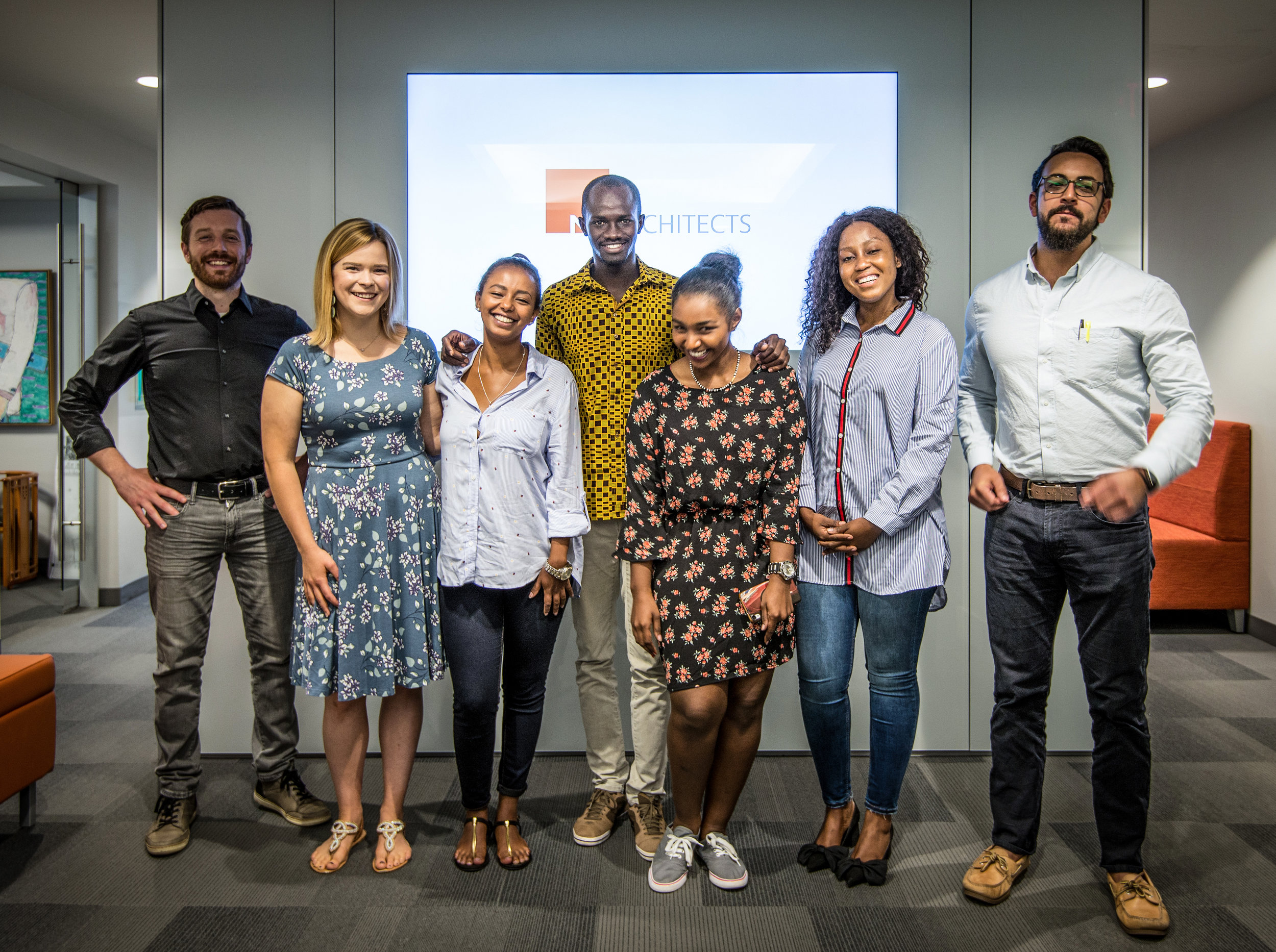 NK Staff Connects with Mandela Fellows