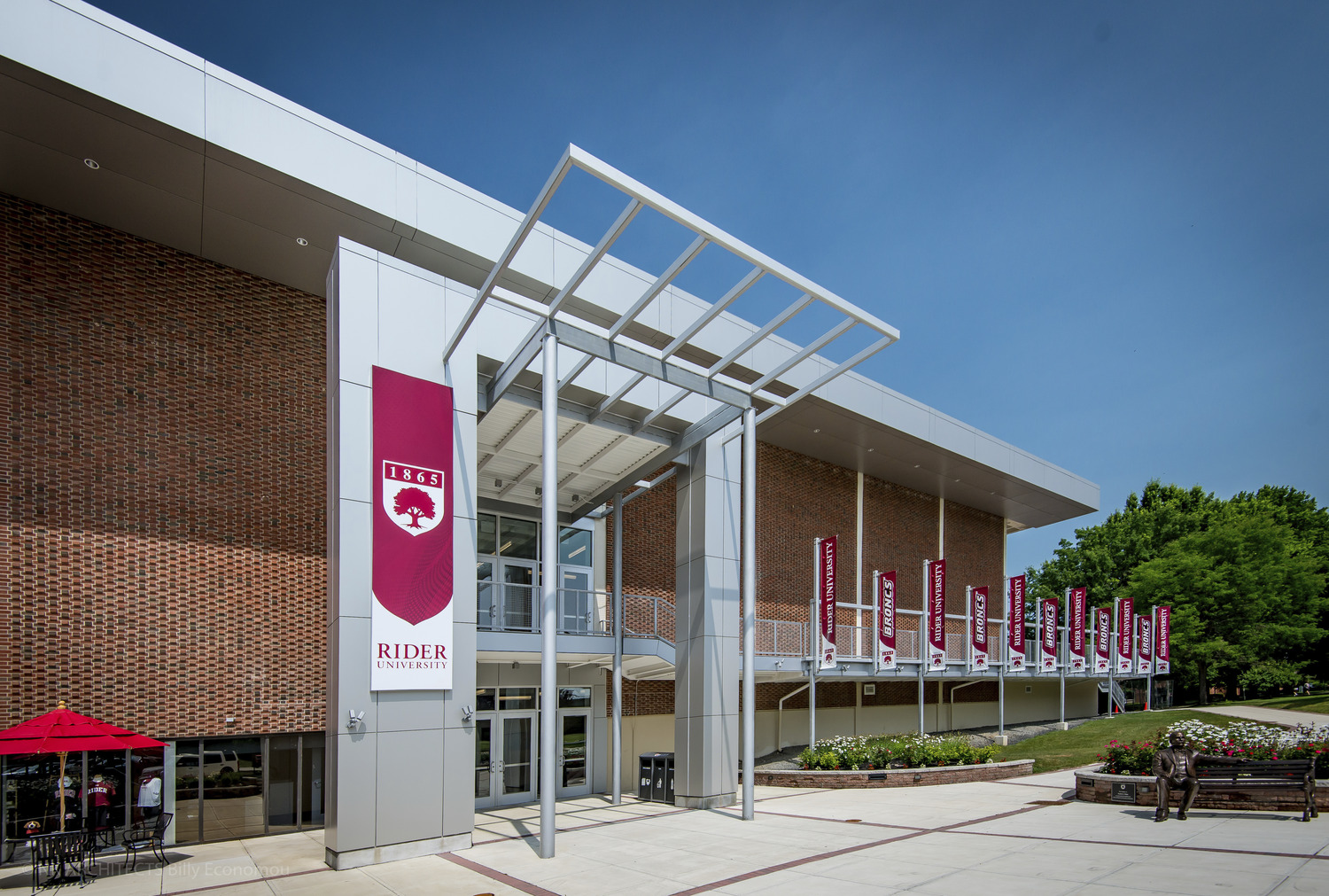 Rider University Bart Luedeke Student Center