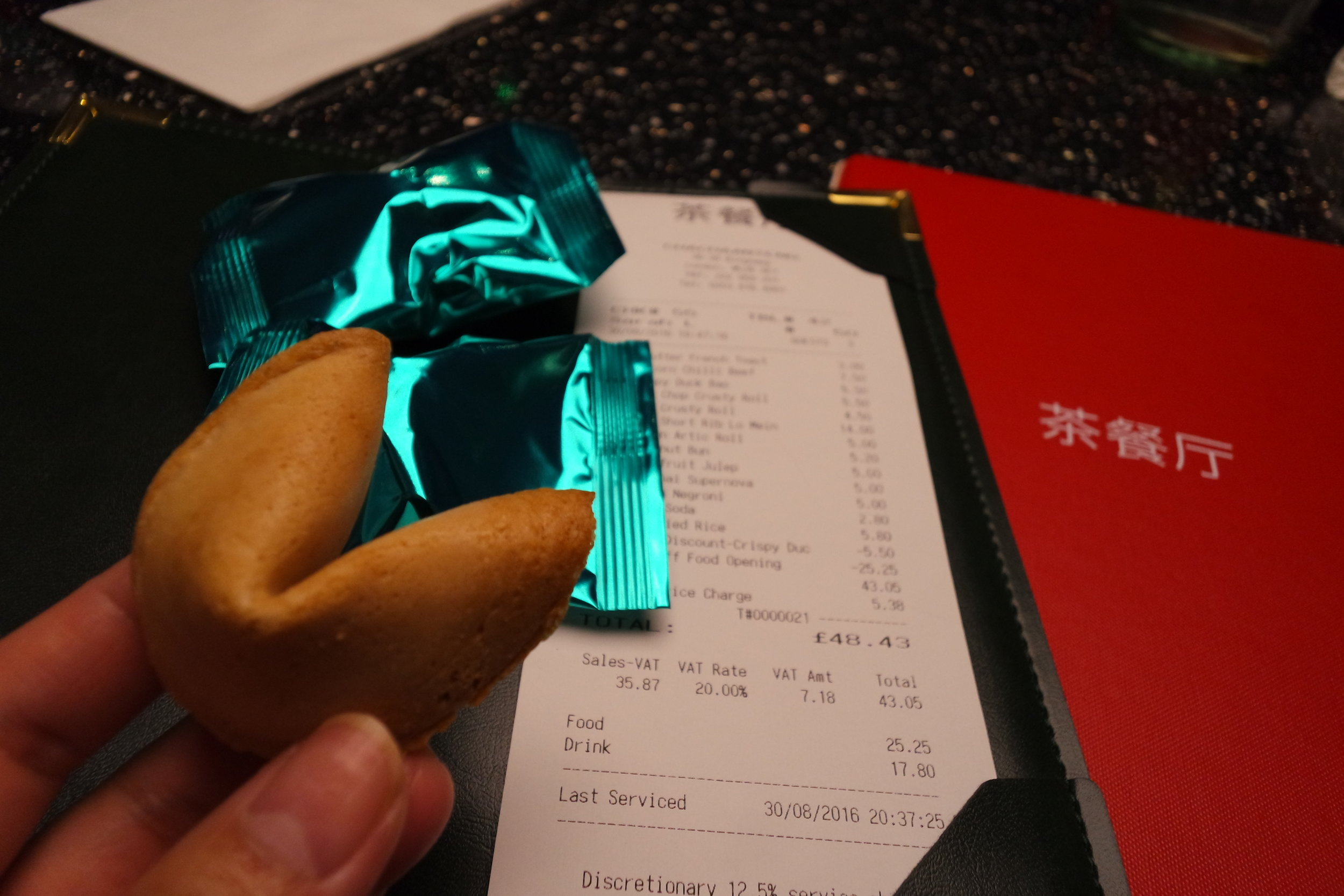 fortune cookie cha chaan teng