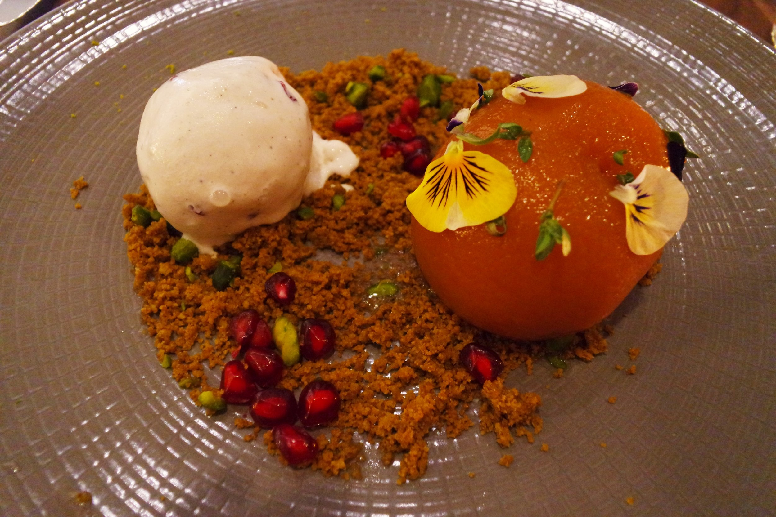 chilli thyme pear