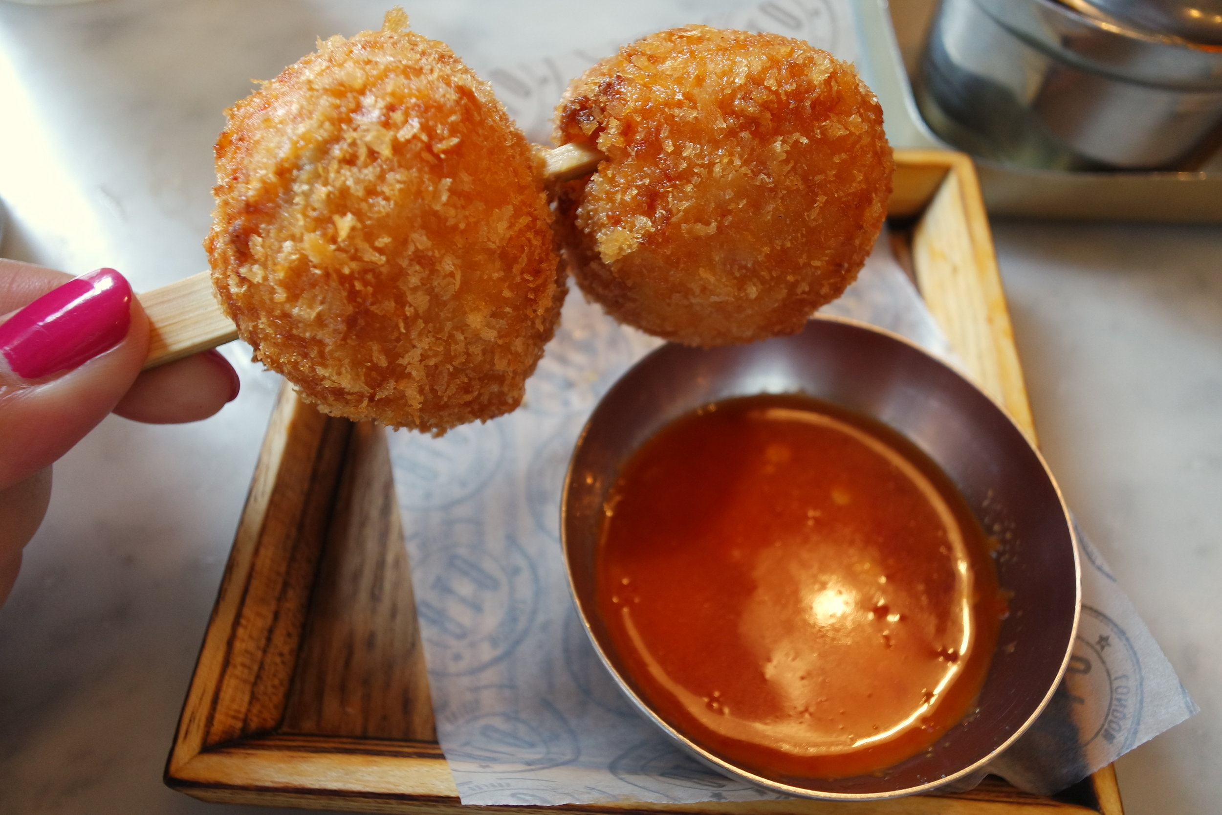 korean arancini bab twigim