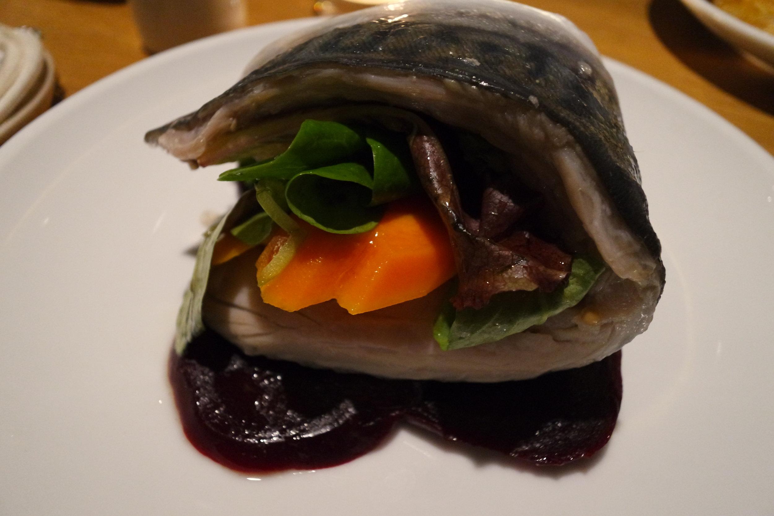smaka starters pickled mackerel