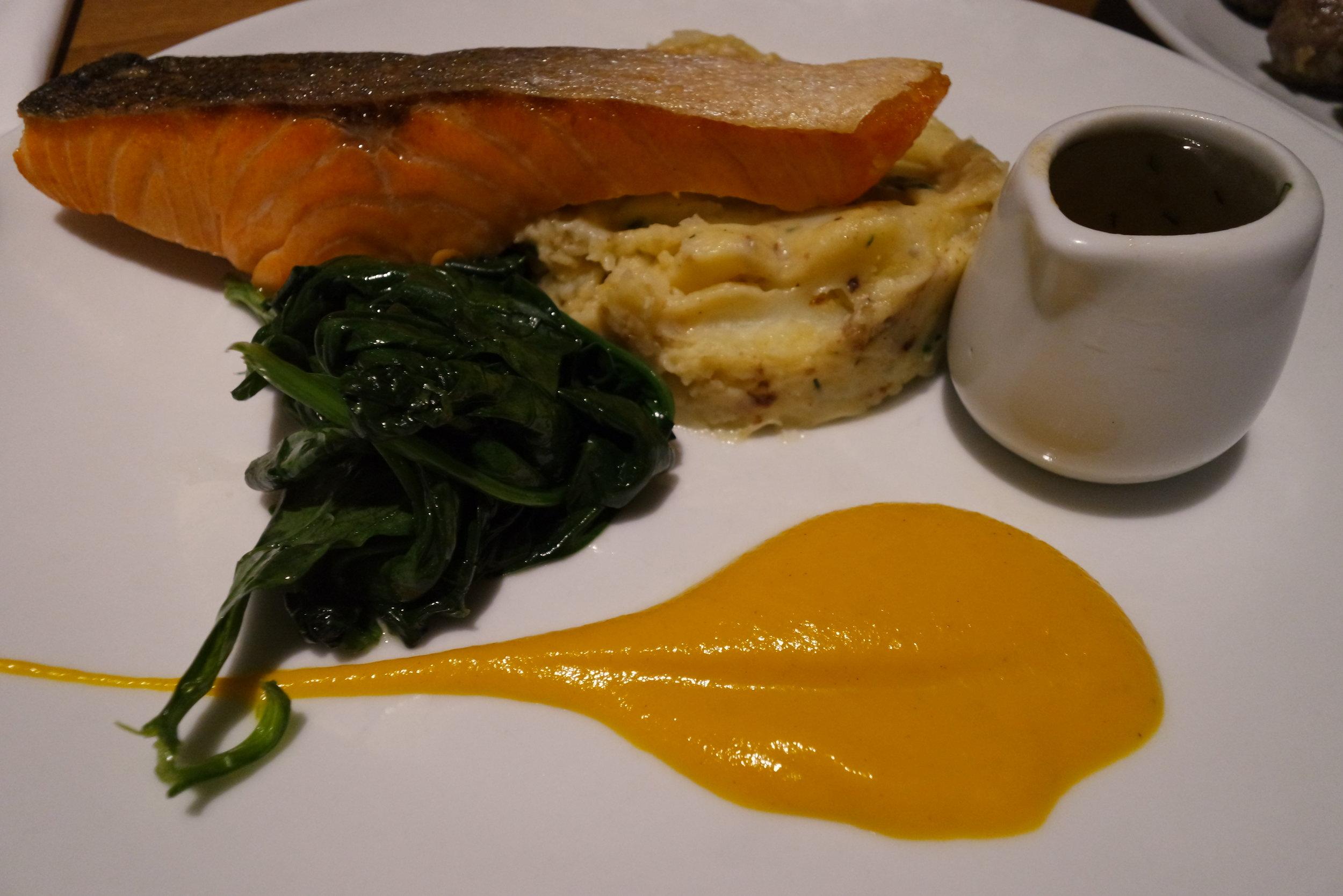 smaka crispy salmon