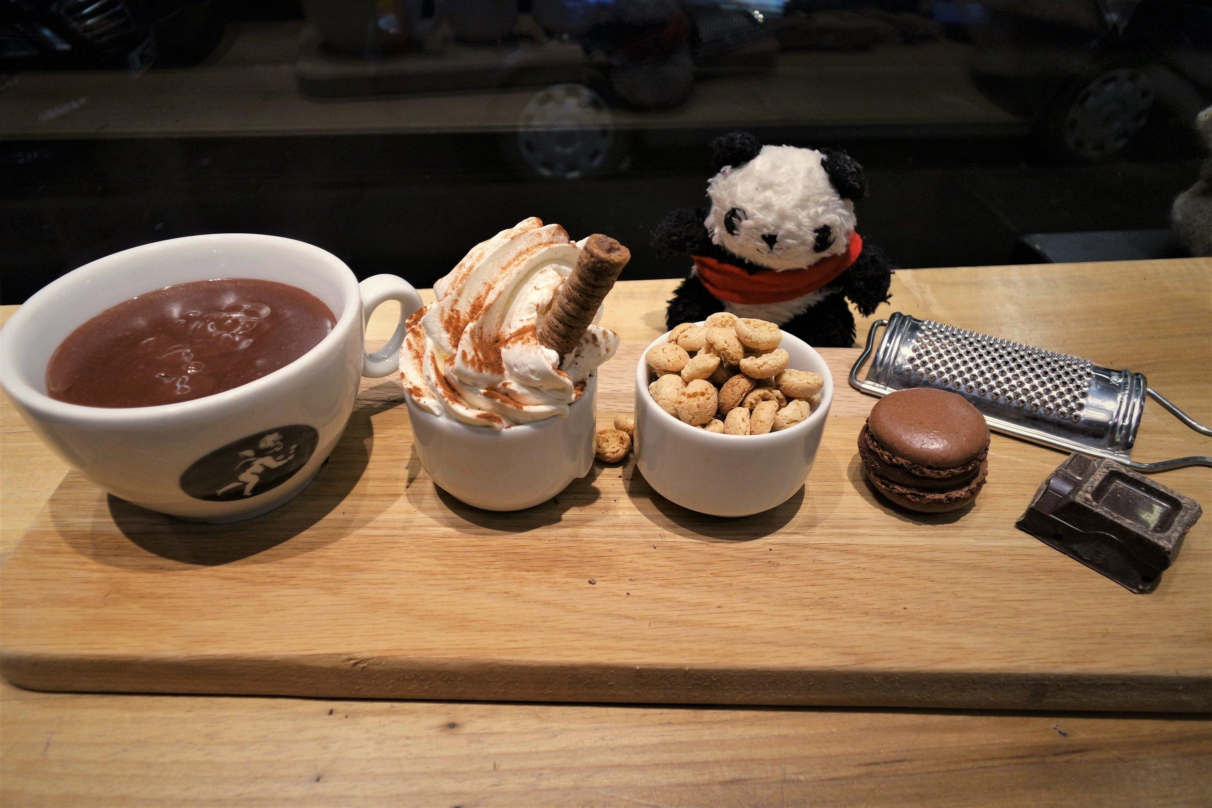 amorino hot chocolate covent garden