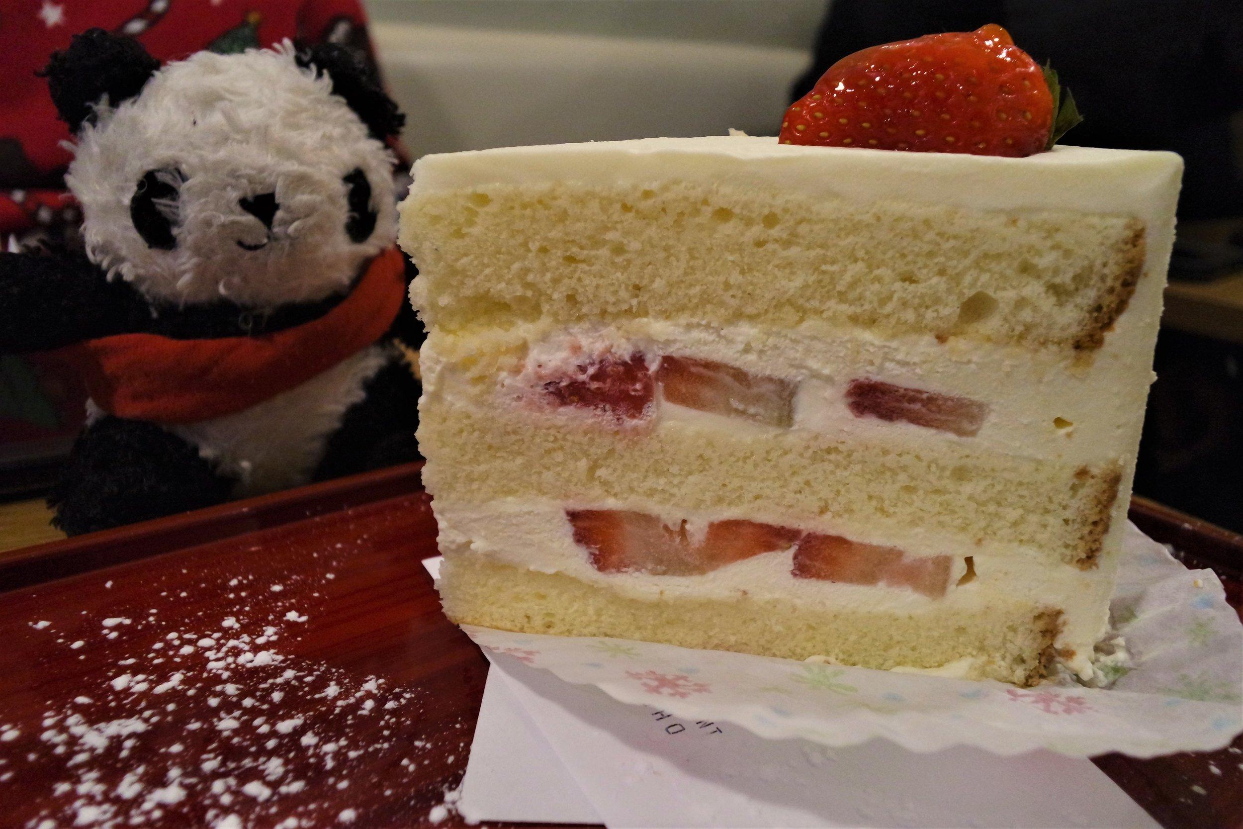 Shibuya Soho, London - Strawberry Cake