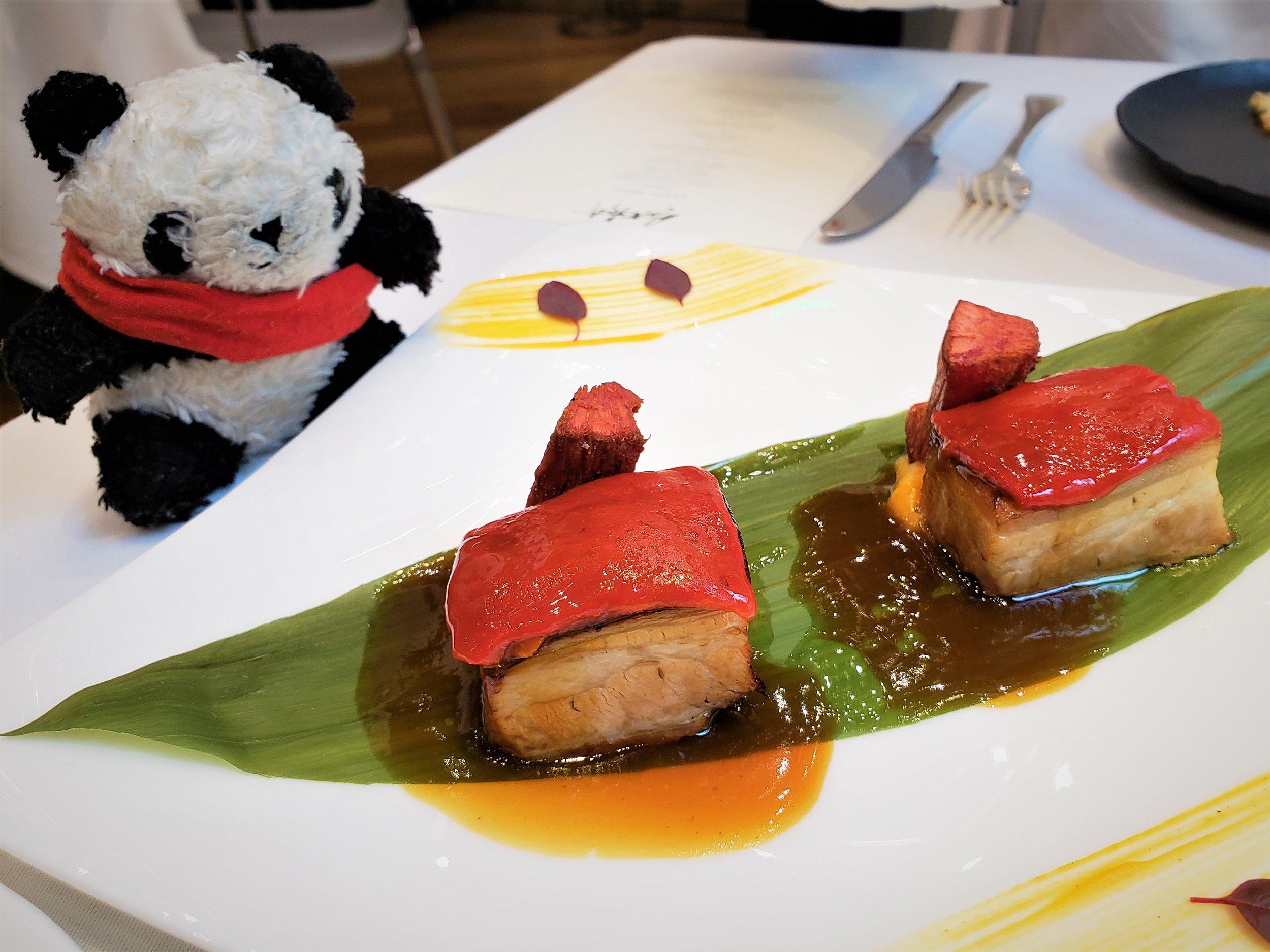 the greedy panda ametsa with arzak instruction