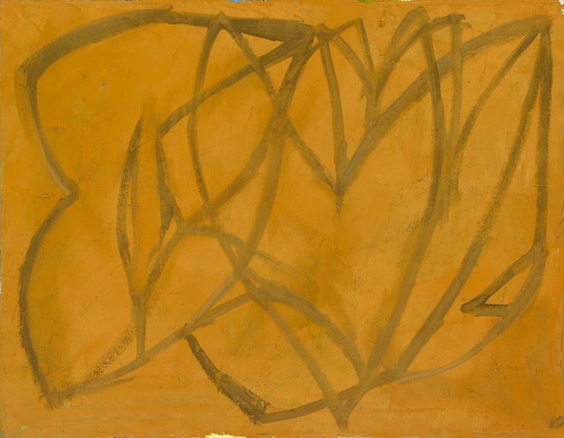 "Bud , oil on canvas, 11"" x 14"", 2012"
