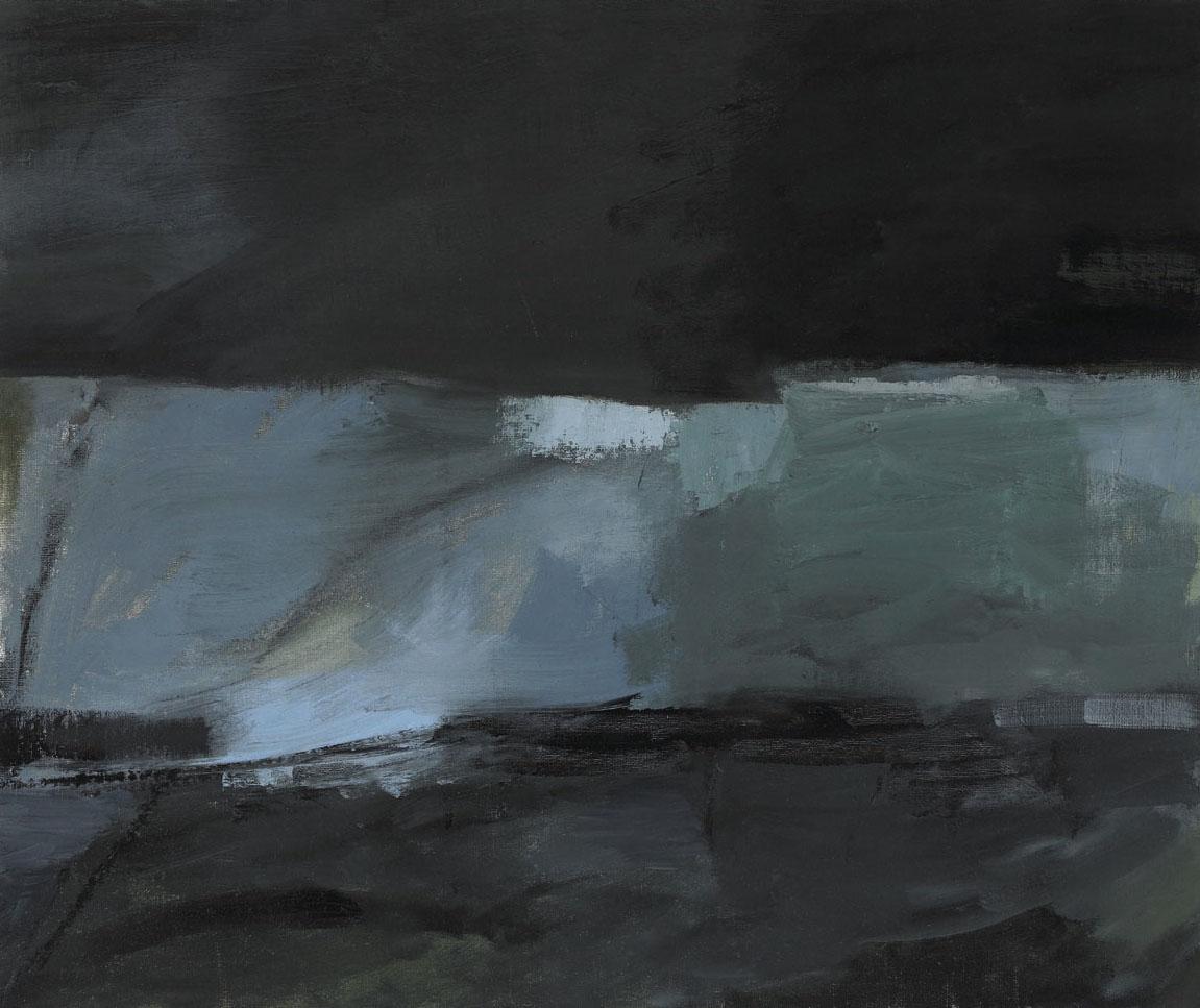 """River , oil on canvas board, 20"""" x 24"""", 2013"""