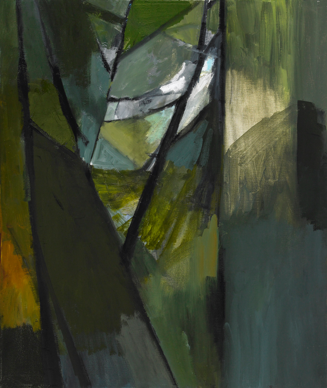 """Understory , oil on canvas, 24"""" x 20"""", 2011"""