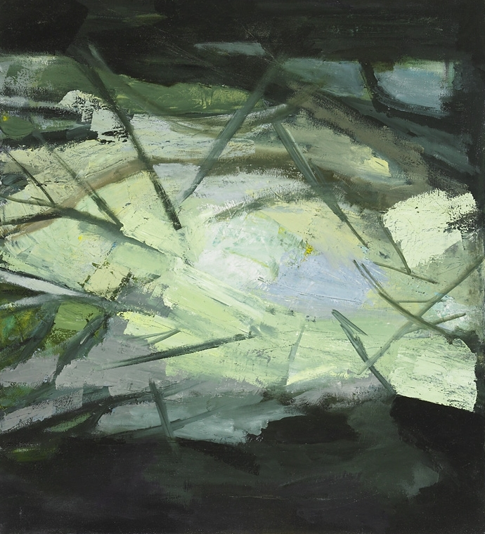 """River , oil on canvas, 20"""" x 18"""", 2010"""