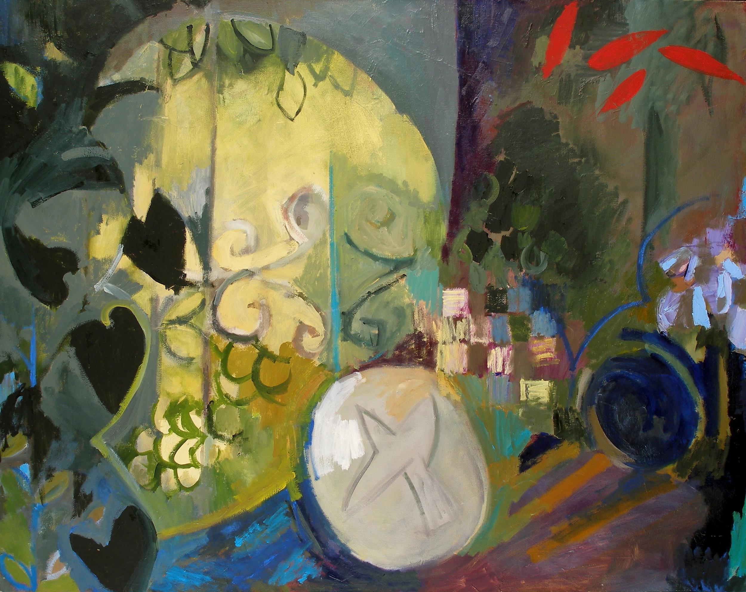 """Window , oil on canvas, 38"""" x 48"""", 2003"""