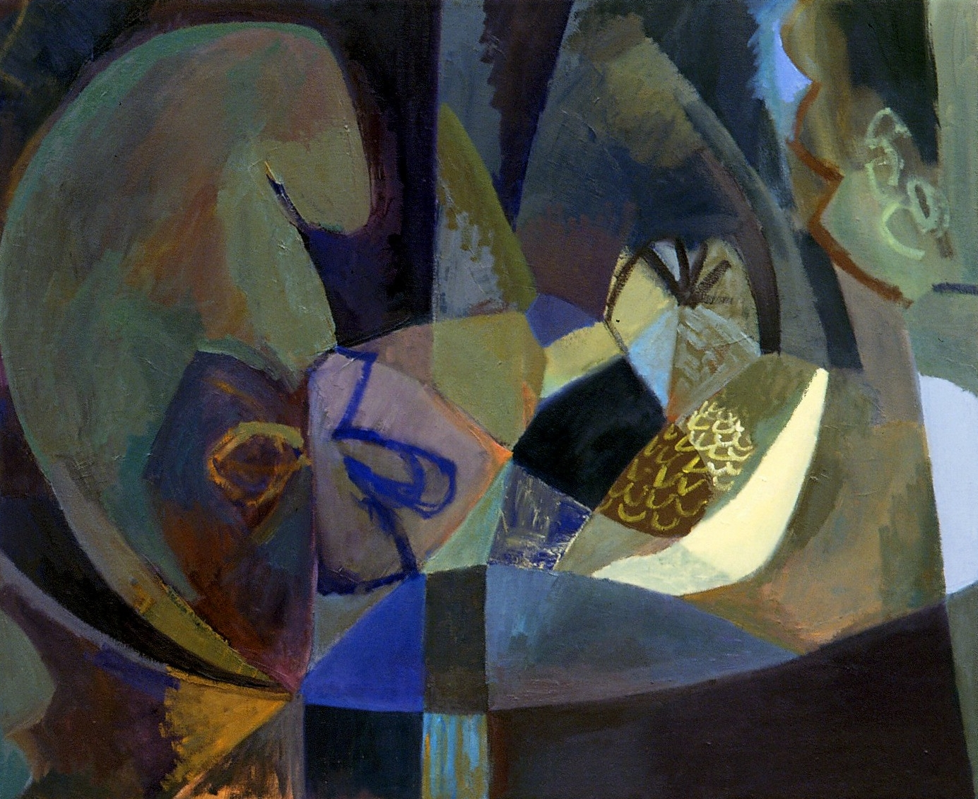 """Menagerie , oil on canvas, 24"""" x 30"""", 2006"""