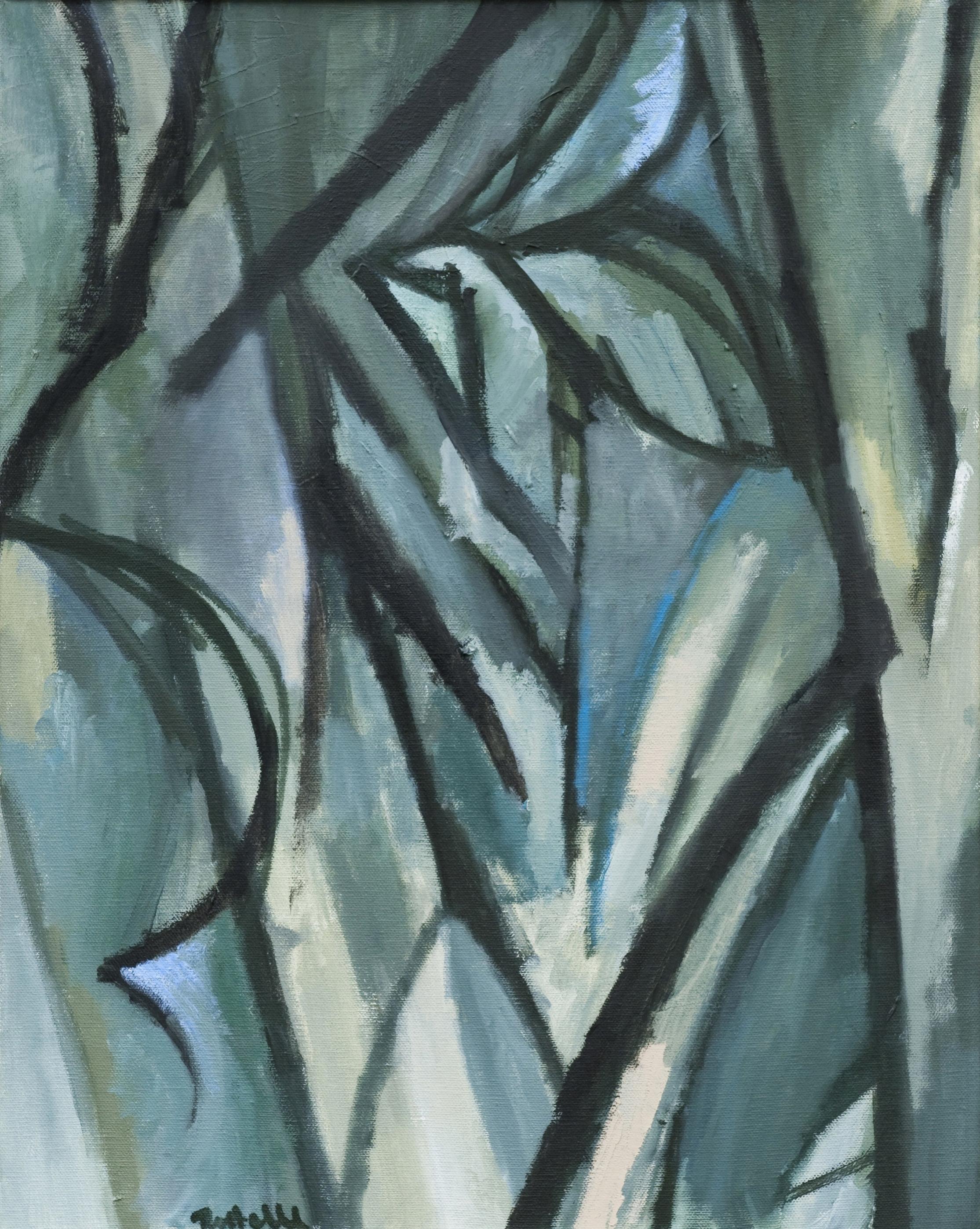 "Nesting , oil on canvas, 20"" x 16"", 2008"