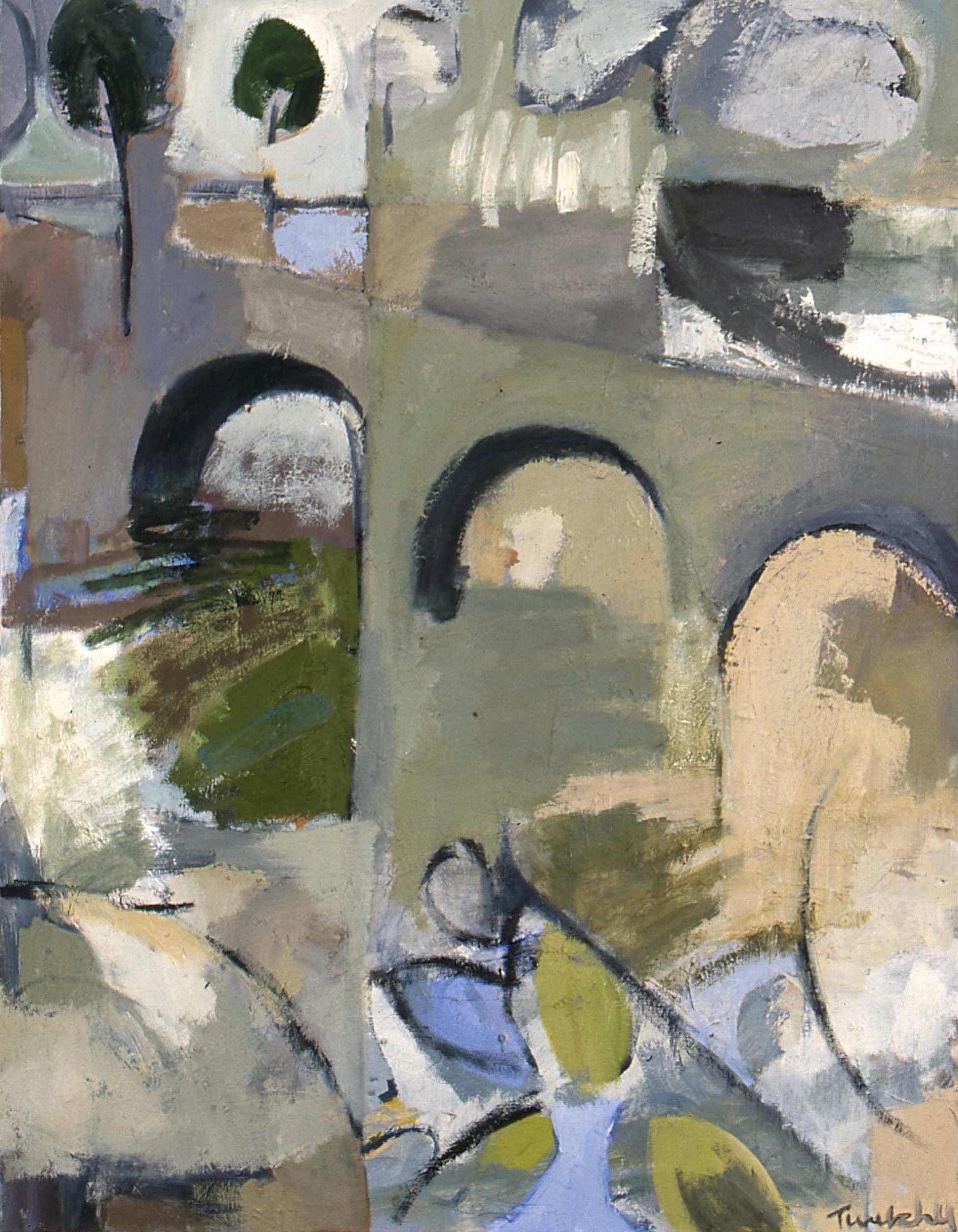 """Paris , oil on canvas, 36"""" x 28"""", 2000"""