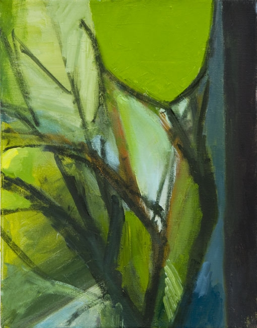 """August , oil on canvas, 11"""" x 14"""", 2007"""