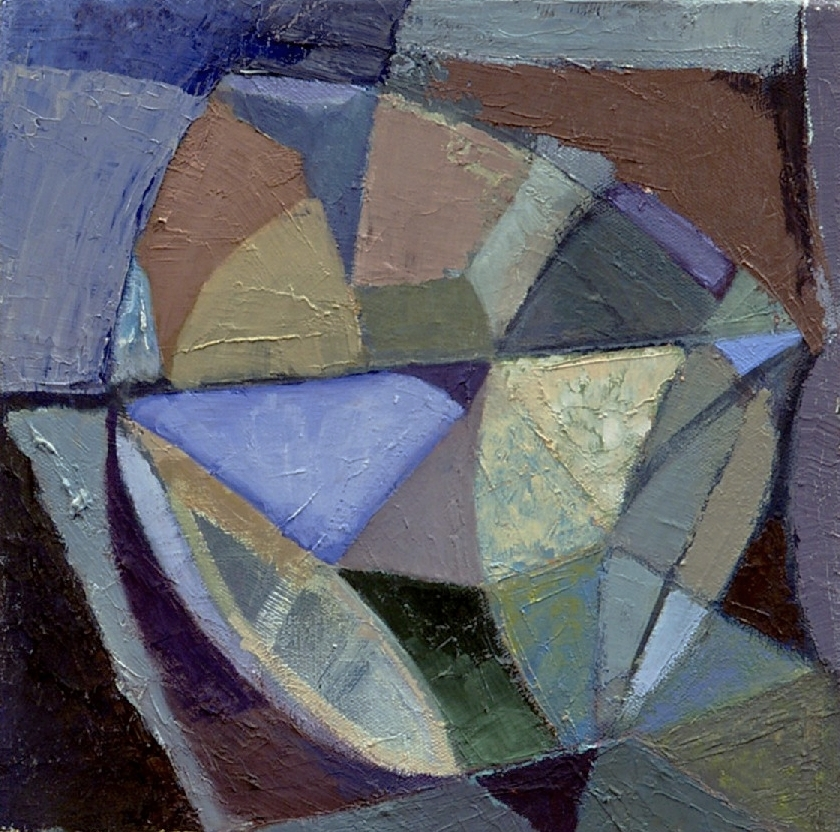 "Nest , oil on canvas, 10"" x 10"", 2005"