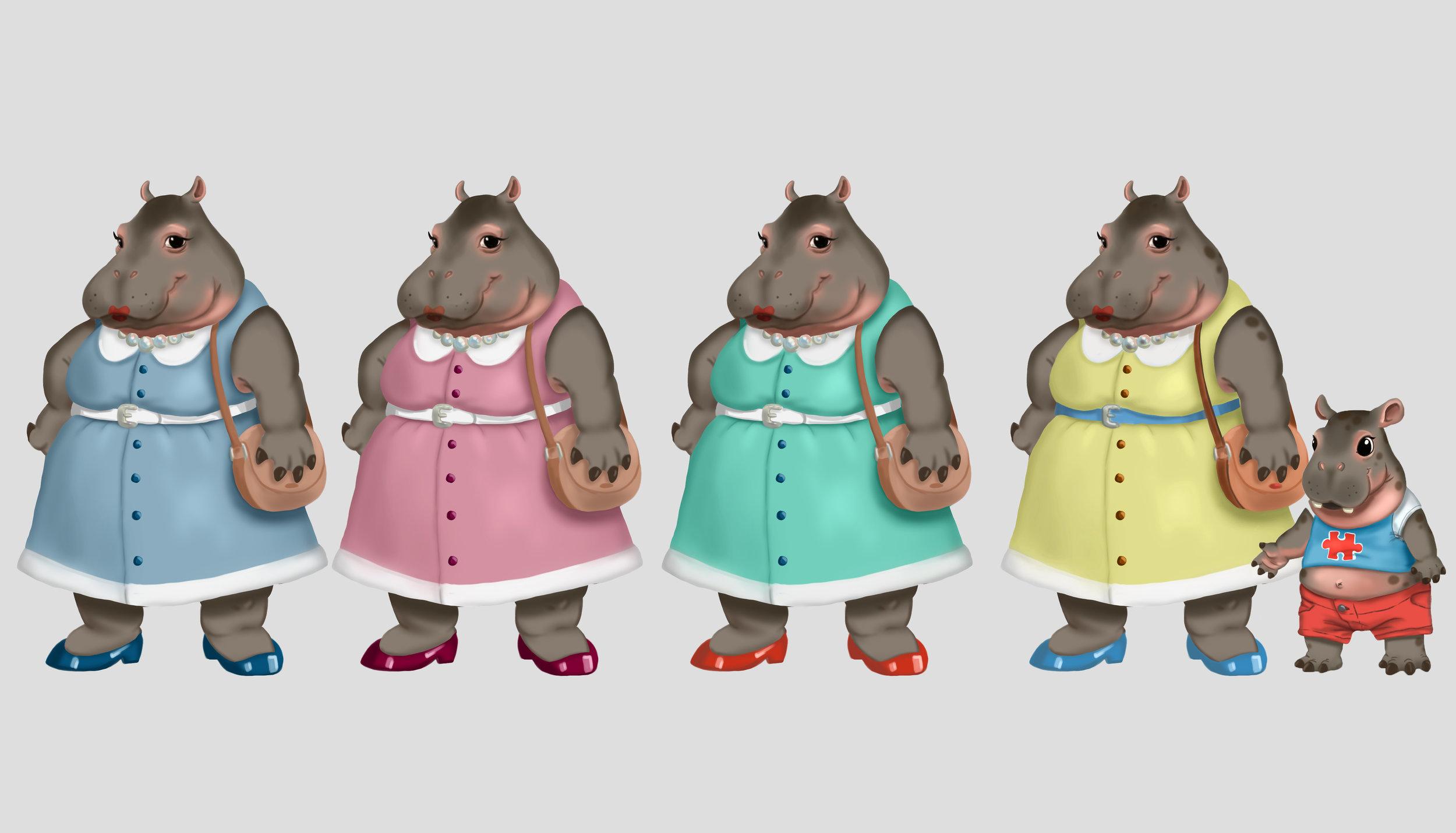 Hippo Mom Character Designs.jpg