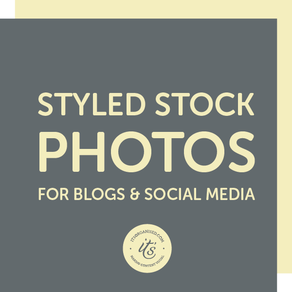 Looking for some styled stock photos for your blog and social media? Take a look to see if these are a good fit for your niche and aesthetic. itsorganised.com | Resource Library
