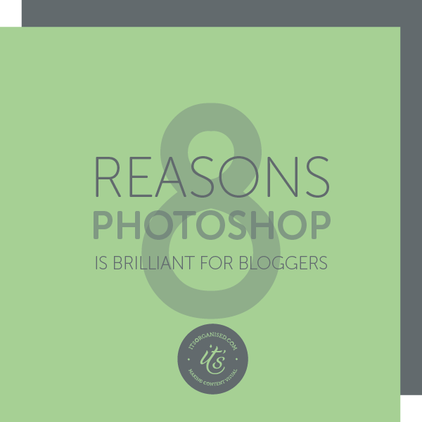 It's more than just photo editing. There are so many reasons Photoshop is a great investment for your small business. Find out what it can do for you. itsorganised.com
