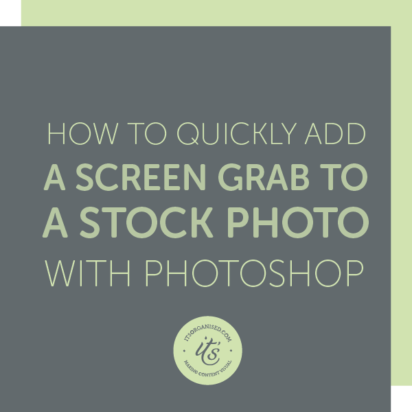 Mockups are a great way to showcase your work, products or website. And they are easy to create in Photoshop too. Find out how in today's tutorial. itsorganised | video tutorials