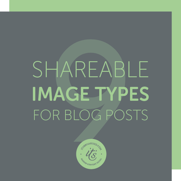 You don't need to be limited to just photos. THere are so many ways you can illustrate your blogs and social mediA. Try something new. itsorganised.com | Blogging for SMall Business