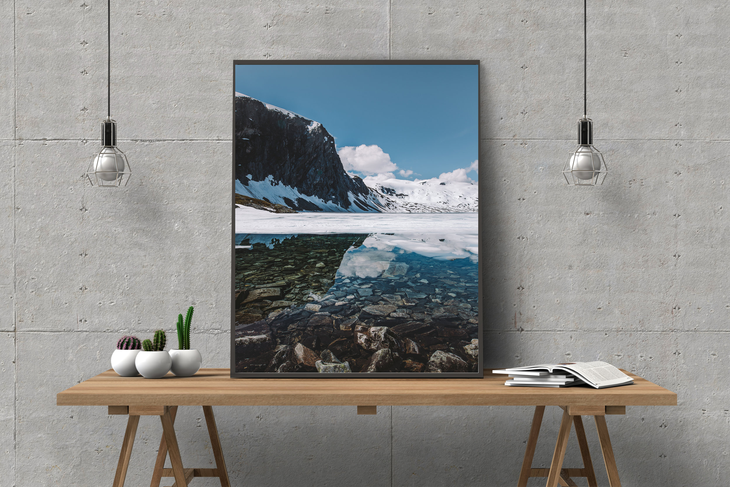 Fine Art Prints - Shipping is always free! Available in two sizes, signature available upon request.