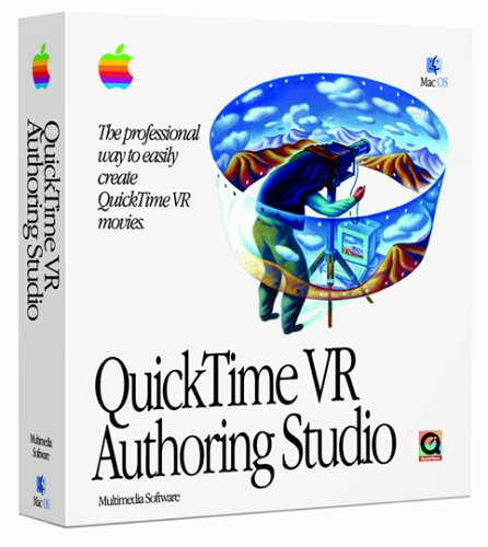 QuickTime VR 1.0 was introduced in 1994 and was one the first interactive media authoring tools.