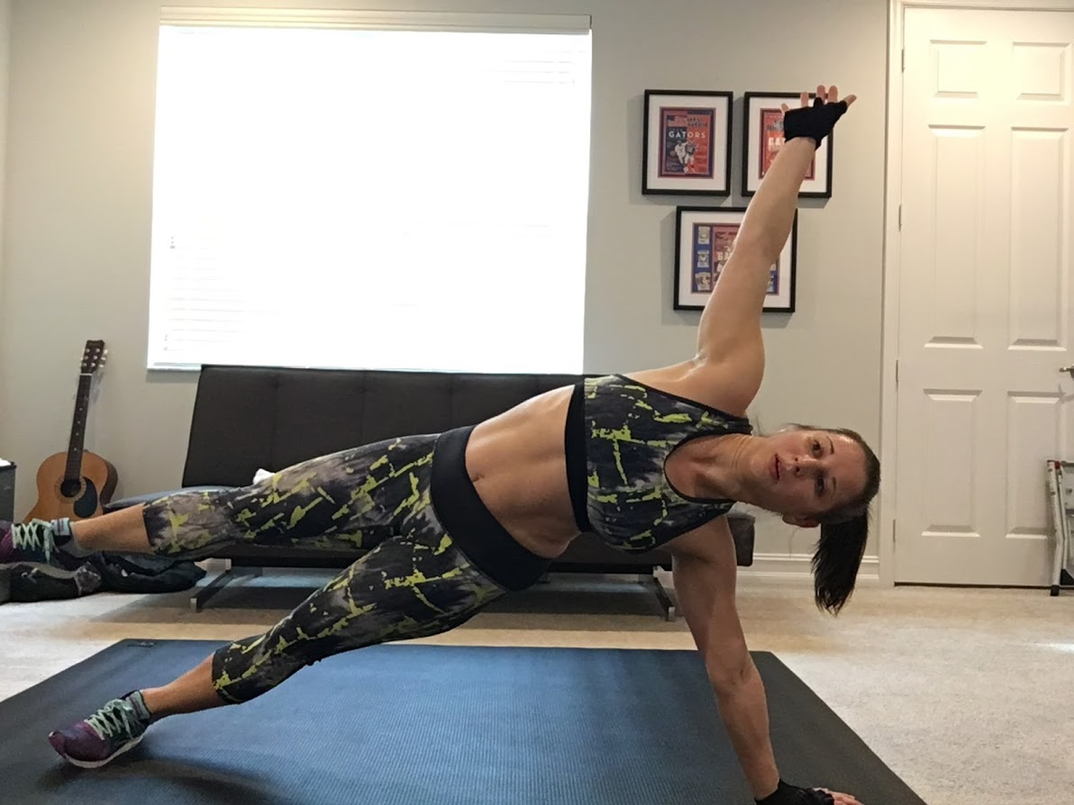 Eccentric lower also includes a few butt exercises