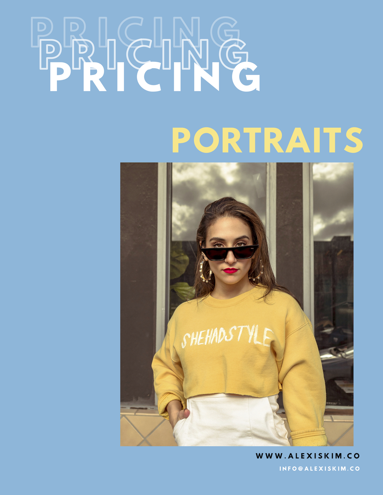 PORTRAITS - ALL SHOOT REQUIRE A 30% DEPOSIT UPON BOOKING!!