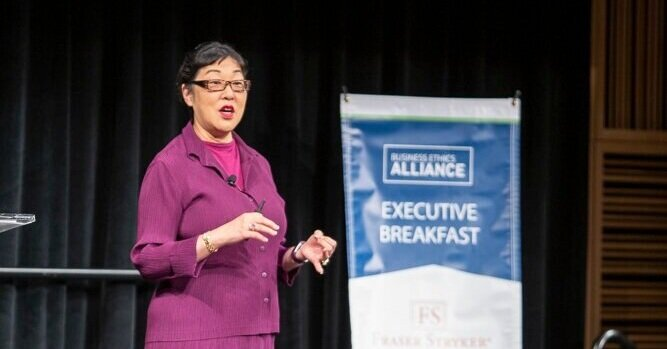 Royanne Doi, Global Legal, Ethics & Compliance Advisor at Yamaha Corporation.