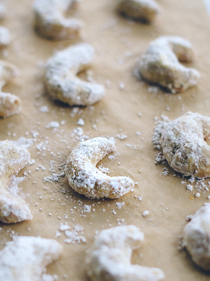Almond Crescent Cookie Recipe | Mara Dawn