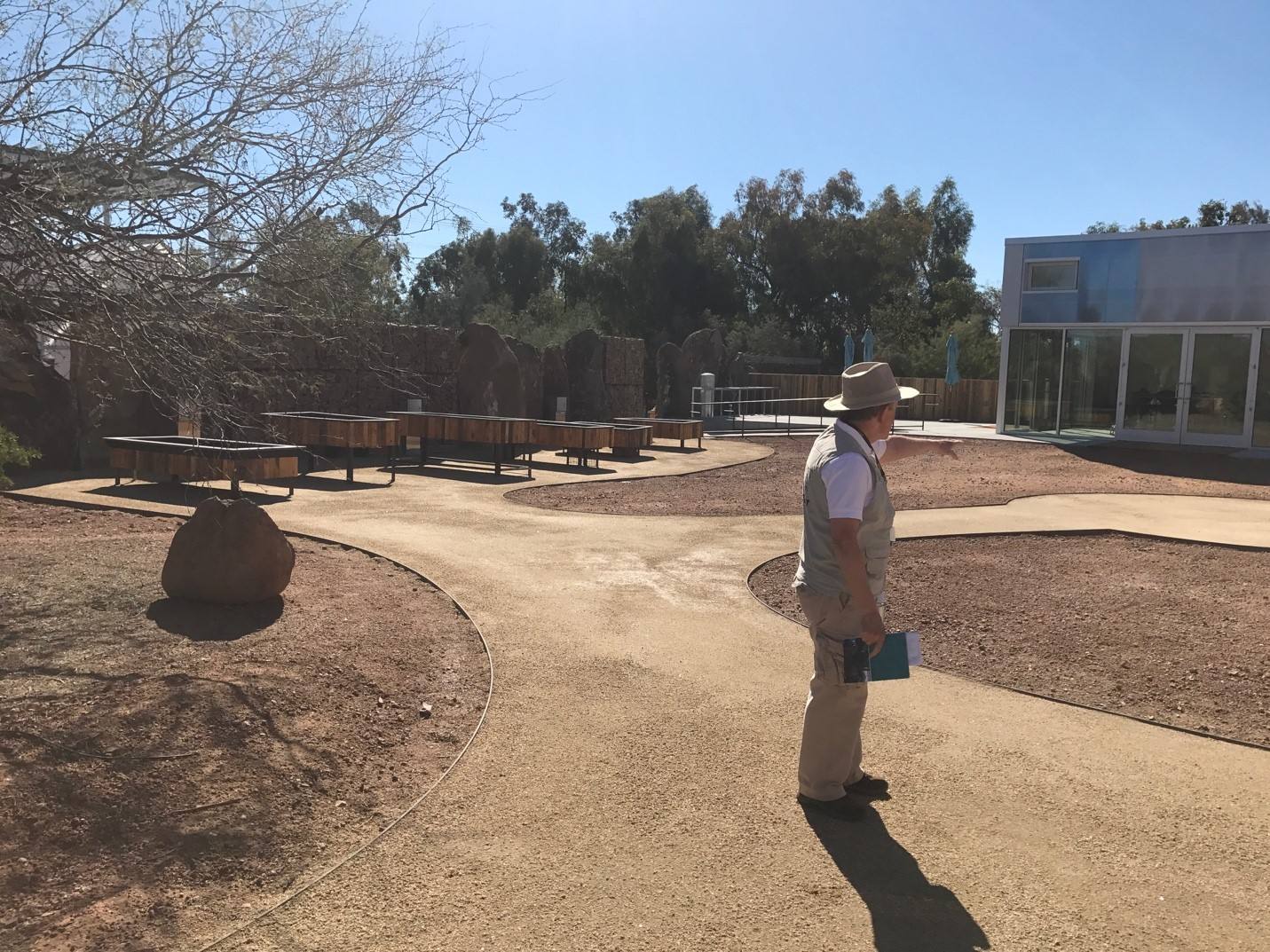 This outdoor learning center is ADA accessible and will include rotating plants used for educational purposes. Students and adults alike will be able to learn how to properly plant and lay irrigation lines, and the space will be continuously replanted.