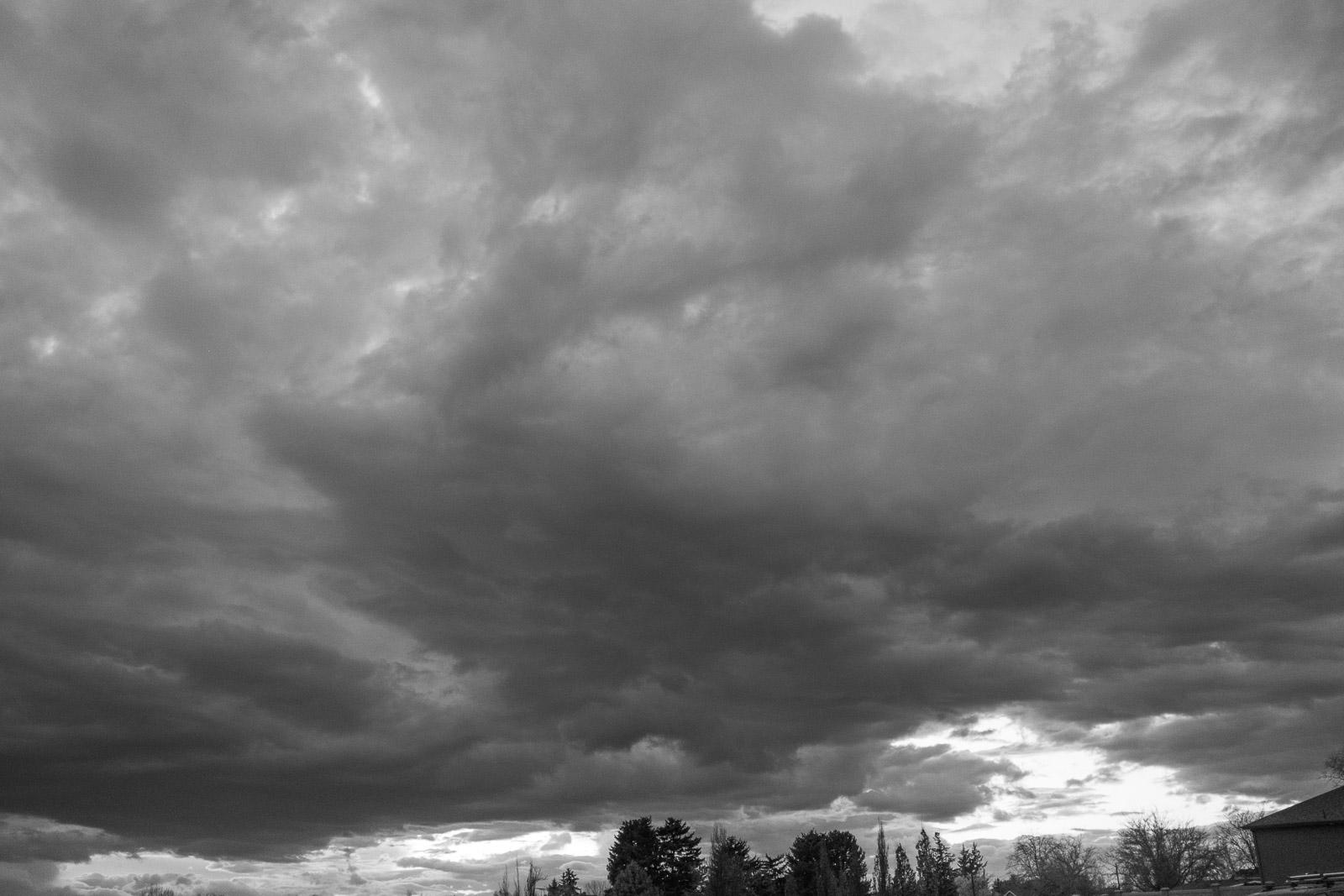 Raining day in Provo