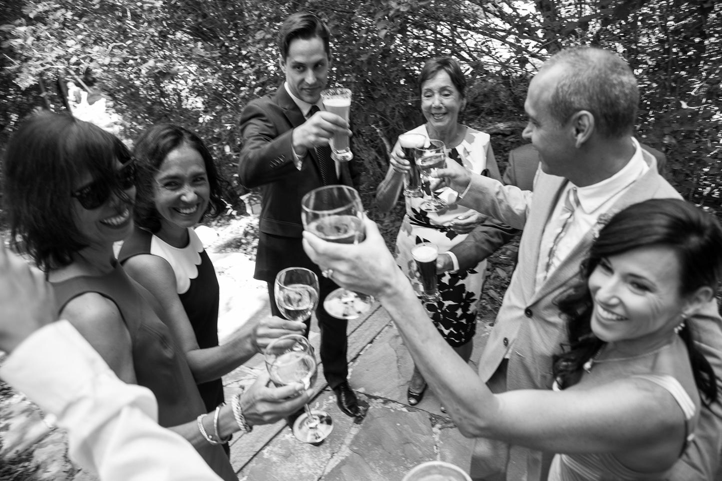 log haven wedding photographers