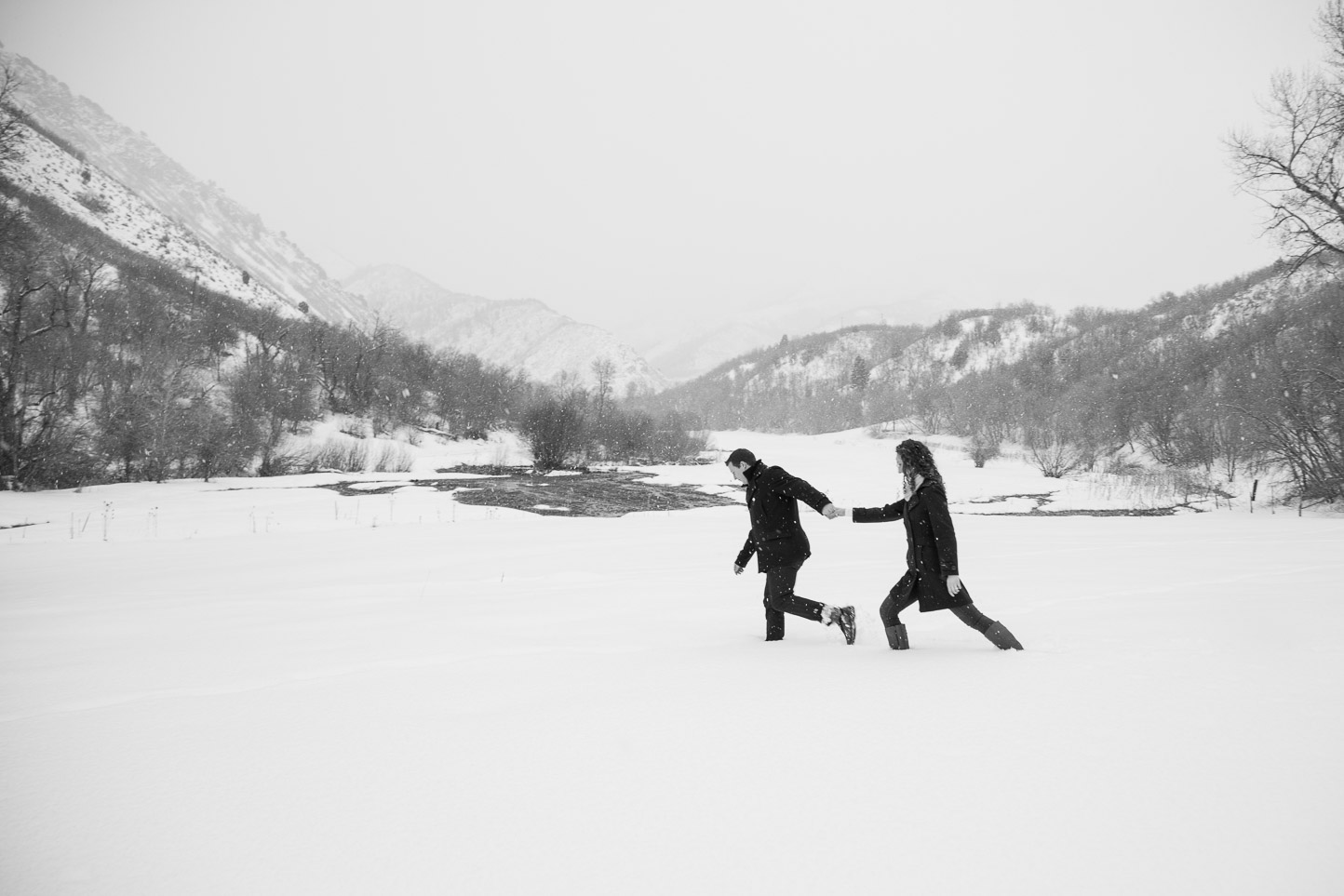 engagement pictures winter