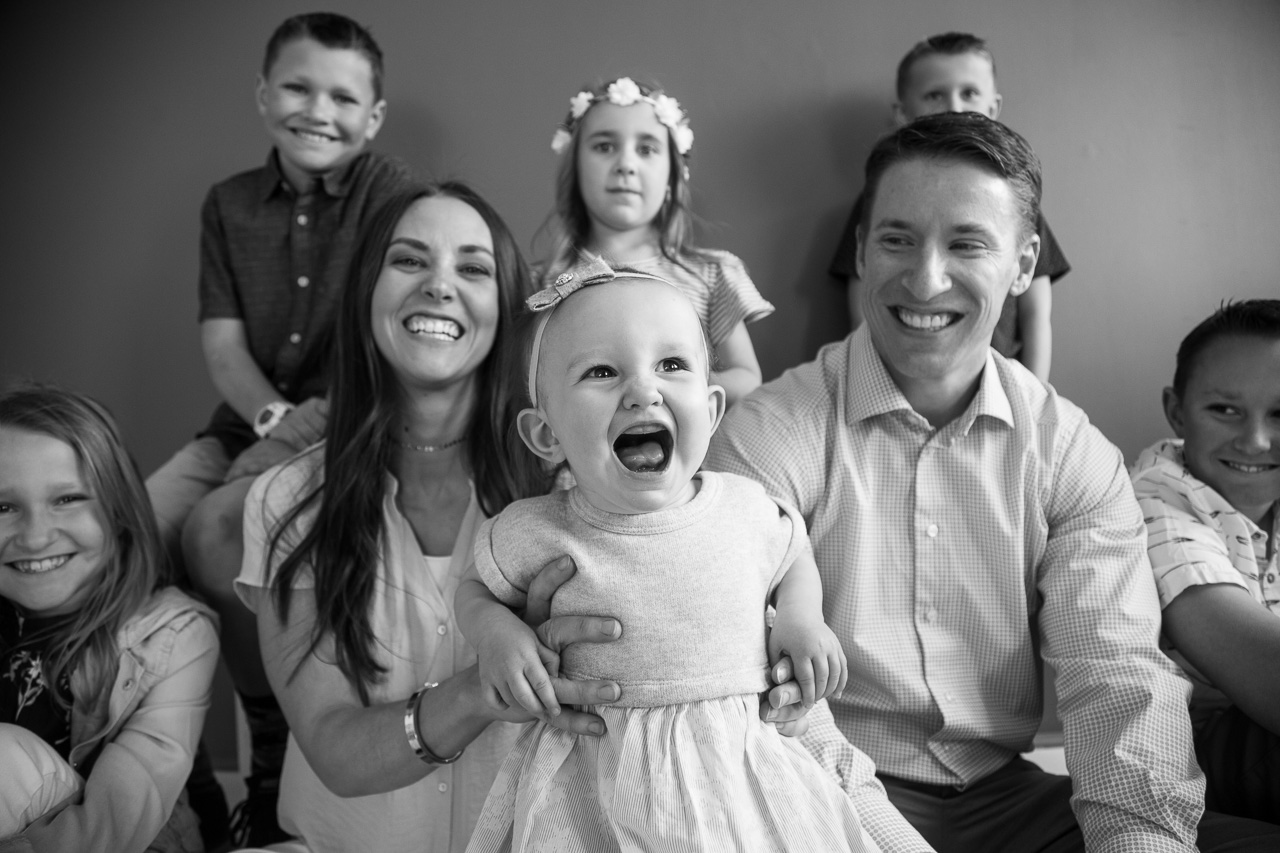 Provo family portrait photography
