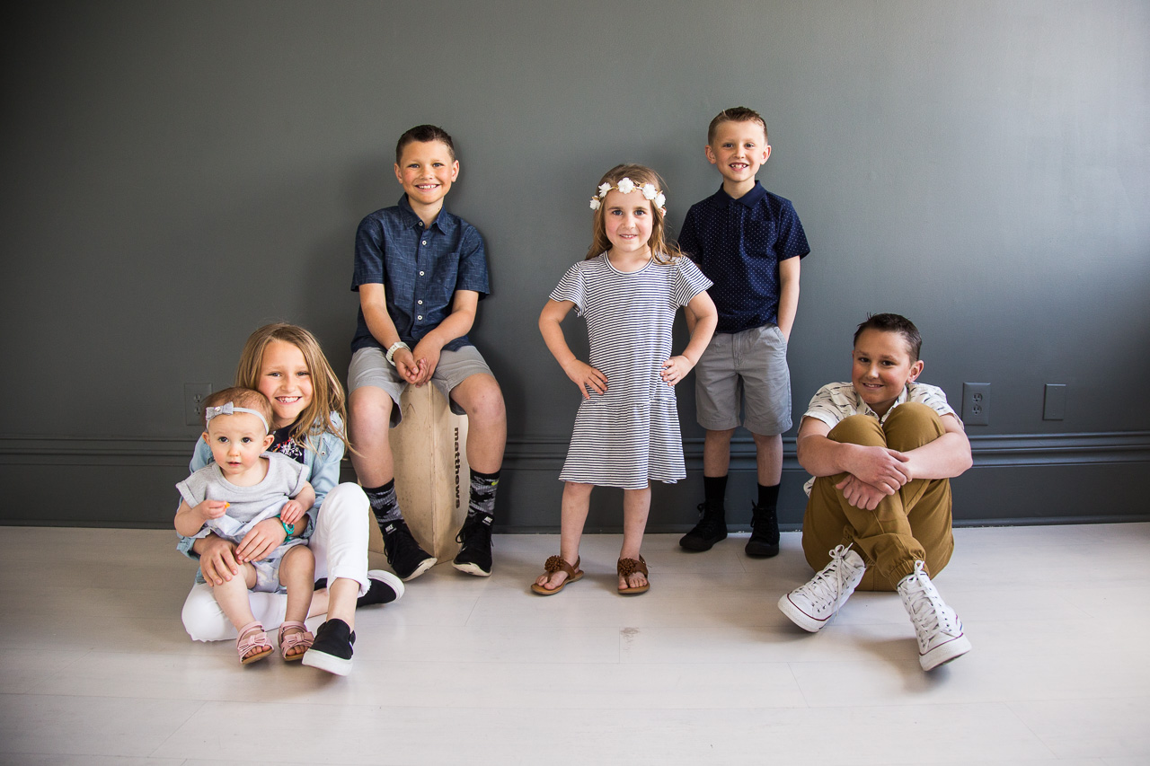 Utah family portrait photography